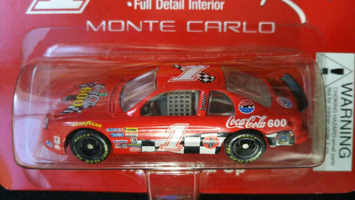 1998 Revell レーシング 1/64 NASCAR シボレー モンテカルロ Coca Cola ペースカー ミニカー ナスカー レベル ダイキャスト コカコーラ_画像3