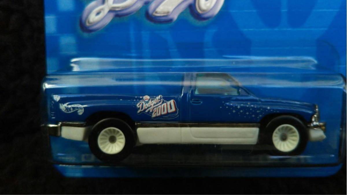 Hot Wheels ホットウィール MLB ドジャース 限定 Dodge RAM トラック ミニカー ダッジ Dodgers 大リーグ アメリカ 雑貨 アメ車 メジャー_画像3