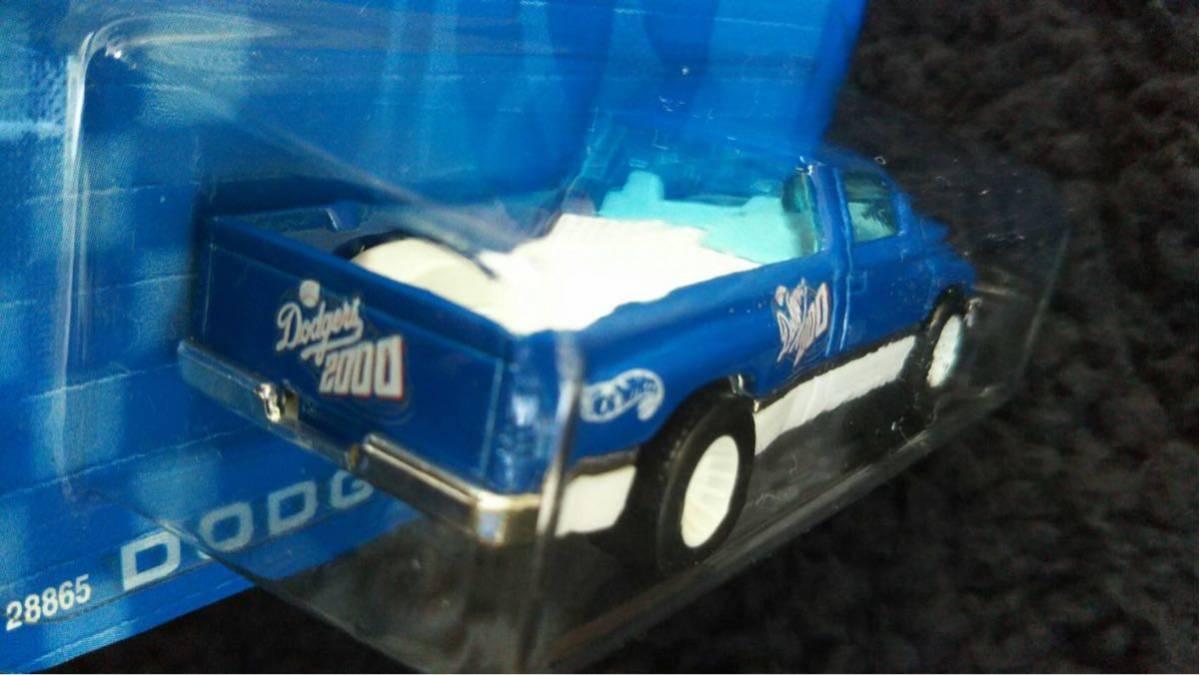 Hot Wheels ホットウィール MLB ドジャース 限定 Dodge RAM トラック ミニカー ダッジ Dodgers 大リーグ アメリカ 雑貨 アメ車 メジャー_画像5