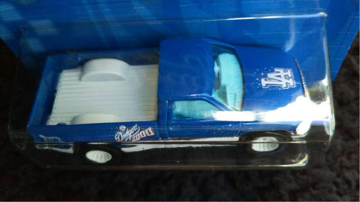 Hot Wheels ホットウィール MLB ドジャース 限定 Dodge RAM トラック ミニカー ダッジ Dodgers 大リーグ アメリカ 雑貨 アメ車 メジャー_画像6