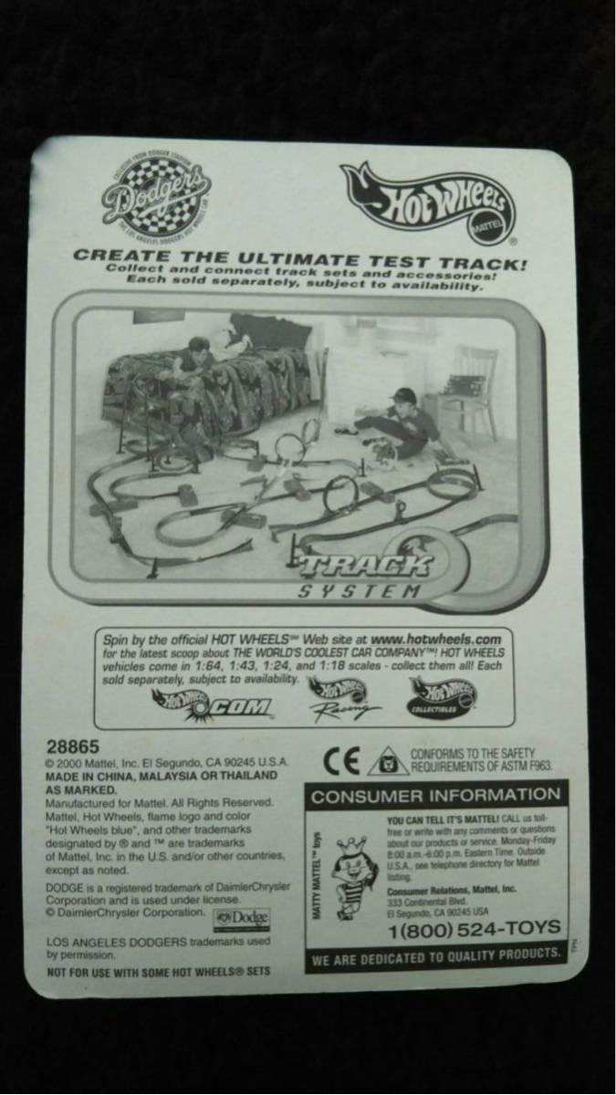 Hot Wheels ホットウィール MLB ドジャース 限定 Dodge RAM トラック ミニカー ダッジ Dodgers 大リーグ アメリカ 雑貨 アメ車 メジャー_画像2