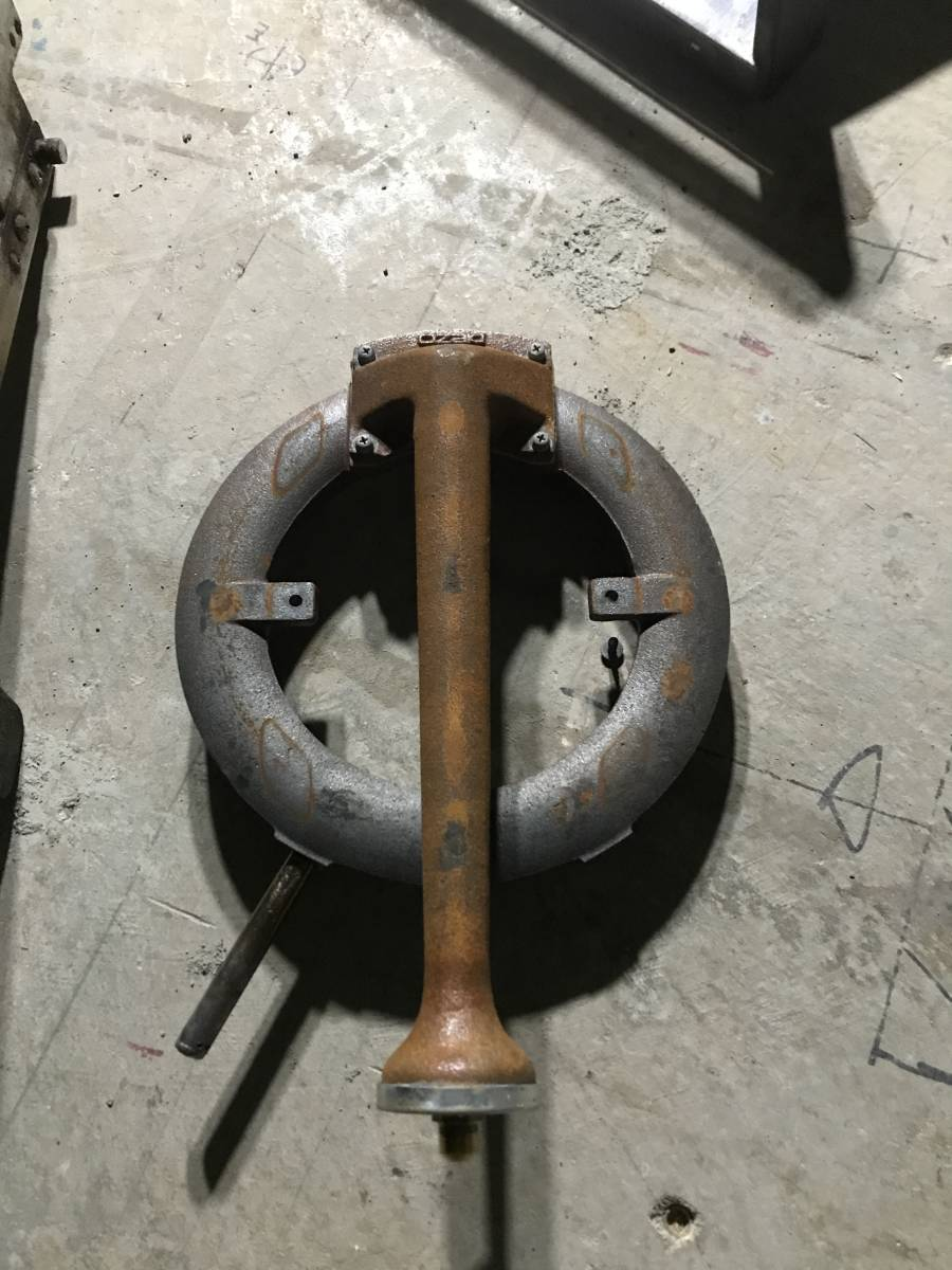 オザキガスレンジ オーブンバーナー左側 中古_画像2