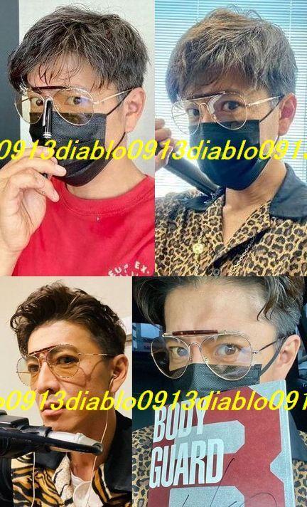 キムタク着 完全同型同色 新品 Zoff takashi kumagai ティアドロップ サングラス ZY192G02-56E2 メガネ めがね 眼鏡 WIND AND SEA 熊谷隆志_画像2