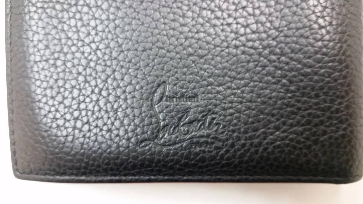 ◆ クリスチャンルブタン  二つ折り 財布 ◆_画像7