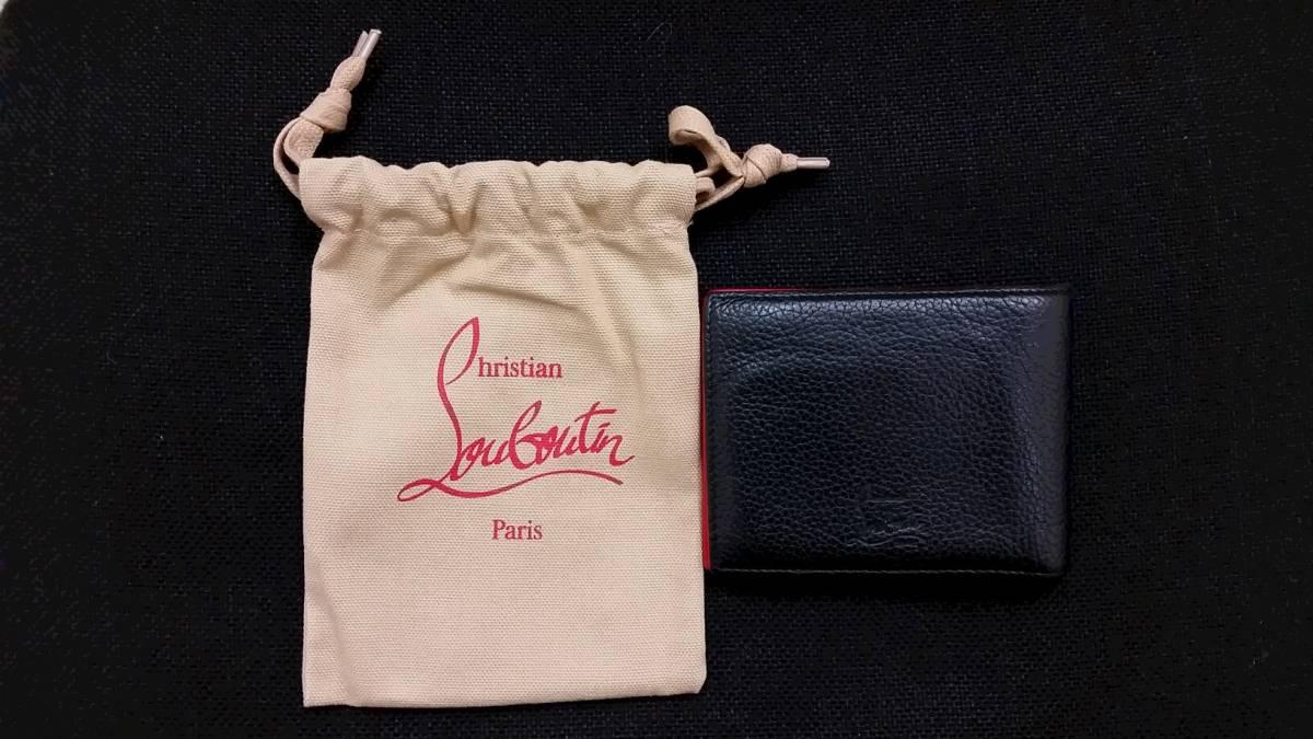 ◆ クリスチャンルブタン  二つ折り 財布 ◆_画像1