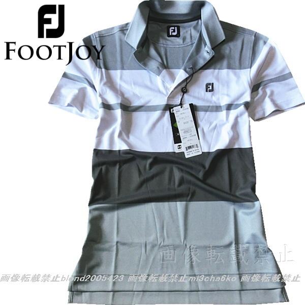 ■新品【FOOTJOY GOLF】フットジョイゴルフ刺繍ロゴ吸汗速乾パフォーマンスポロシャツ■HG/L_画像2