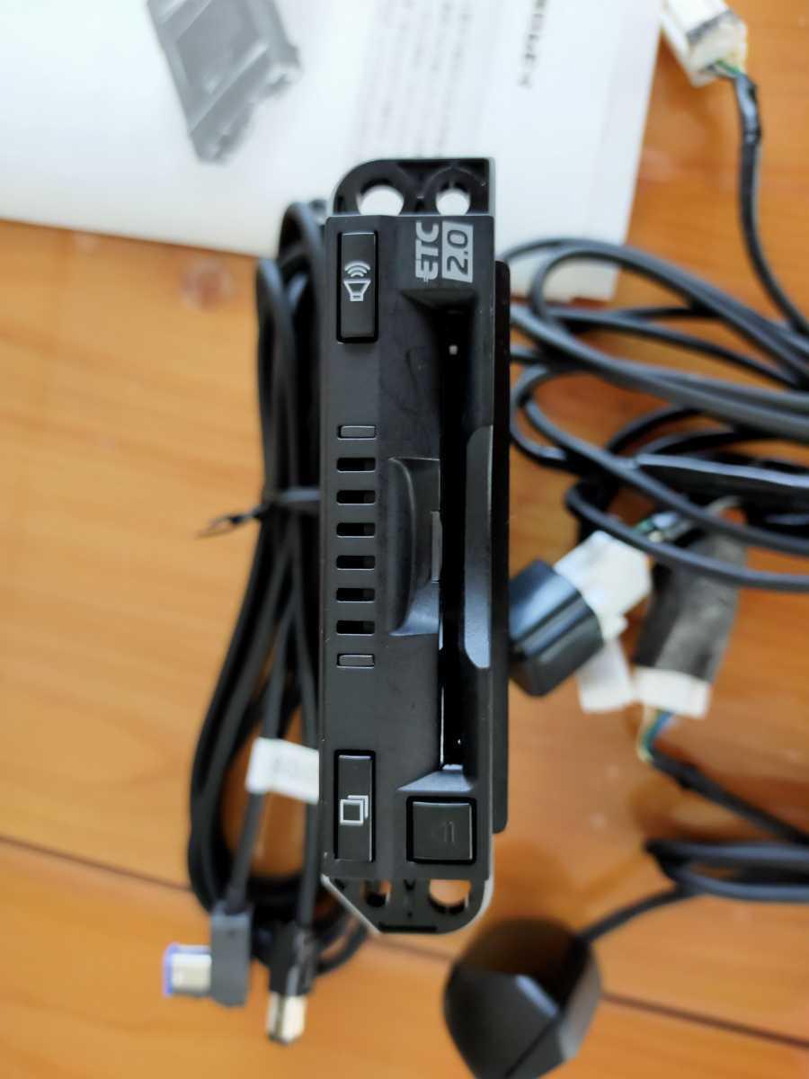 トヨタ純正 ETC 2.0 車載器 ビルドインタイプ ナビ連動 [08686-00640 / 412600-3760] 光ビーコン_画像2