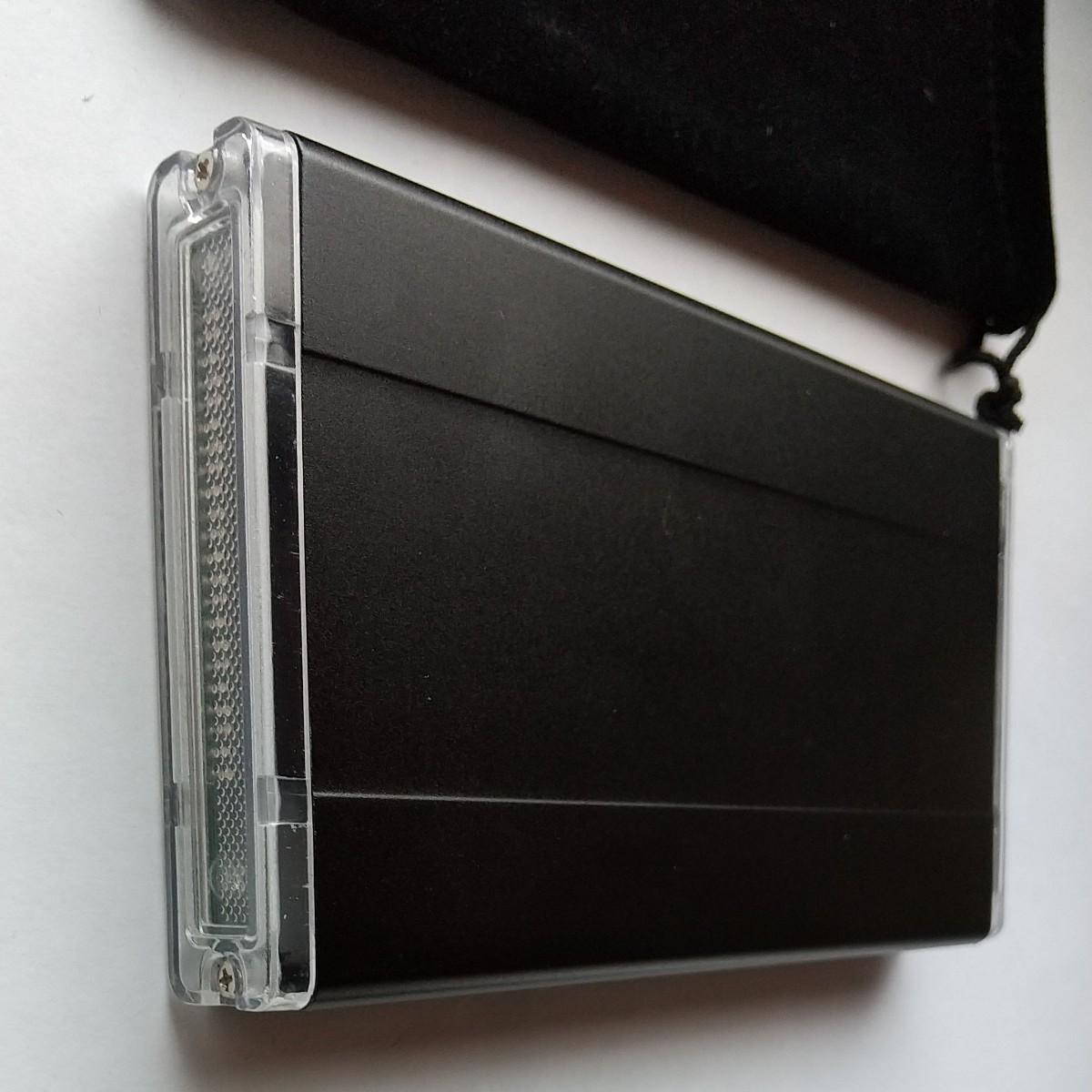 外付けハードディスク SSD  120GB