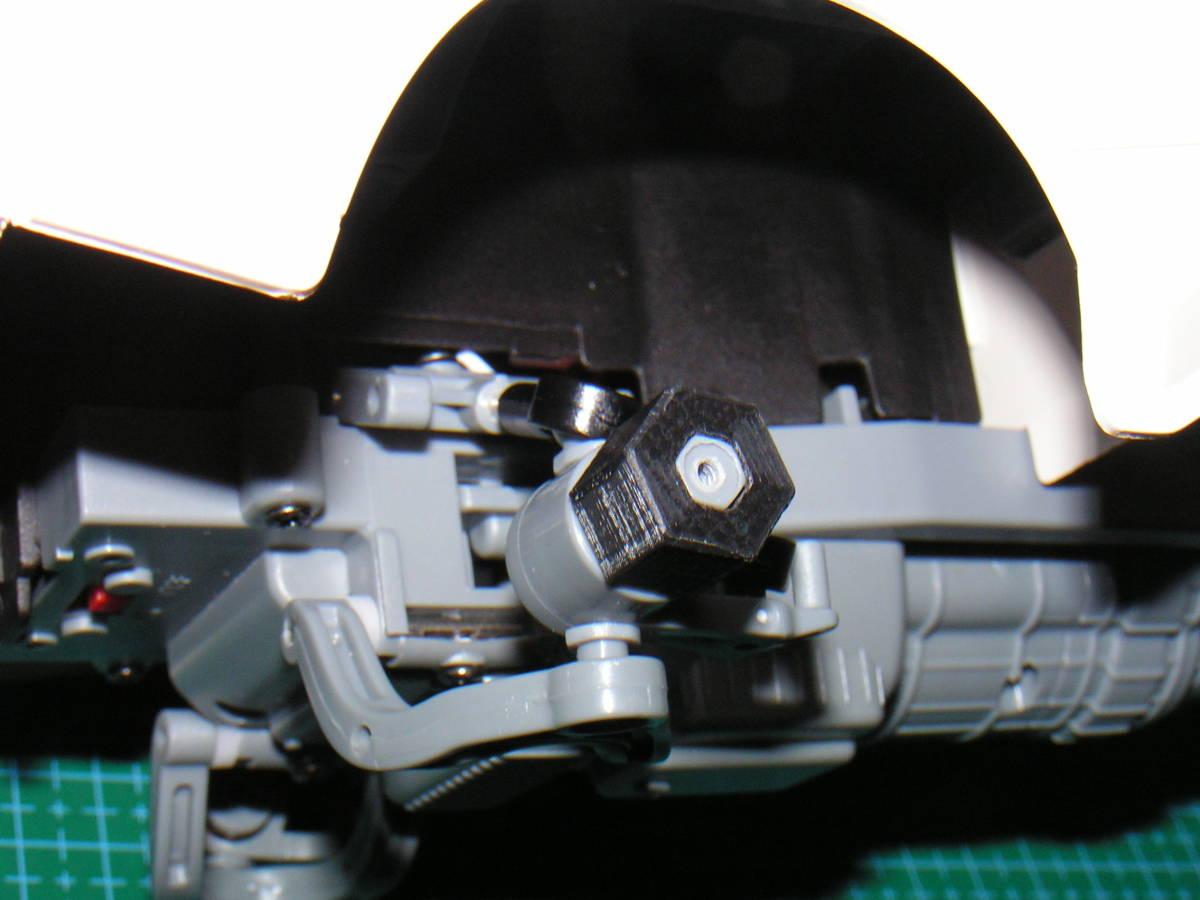 3DプリンタPLA+ 1/10 WPL D12用 5mm→12mmホイール変換ハブ 〔1台分〕 スズキ キャリイ トラック ラジコン RC_フロント参考