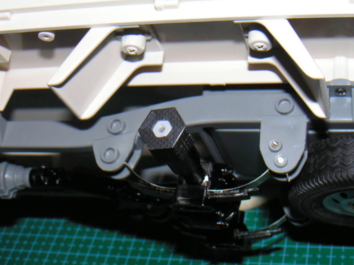 3DプリンタPLA+ 1/10 WPL D12用 5mm→12mmホイール変換ハブ 〔1台分〕 スズキ キャリイ トラック ラジコン RC_リア参考