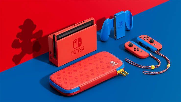 ニンテンドースイッチ 本体 マリオレッド&ブルー 新品 未使用 未開封 即日配達 任天堂 Nintendo 送料無料 一円スタート