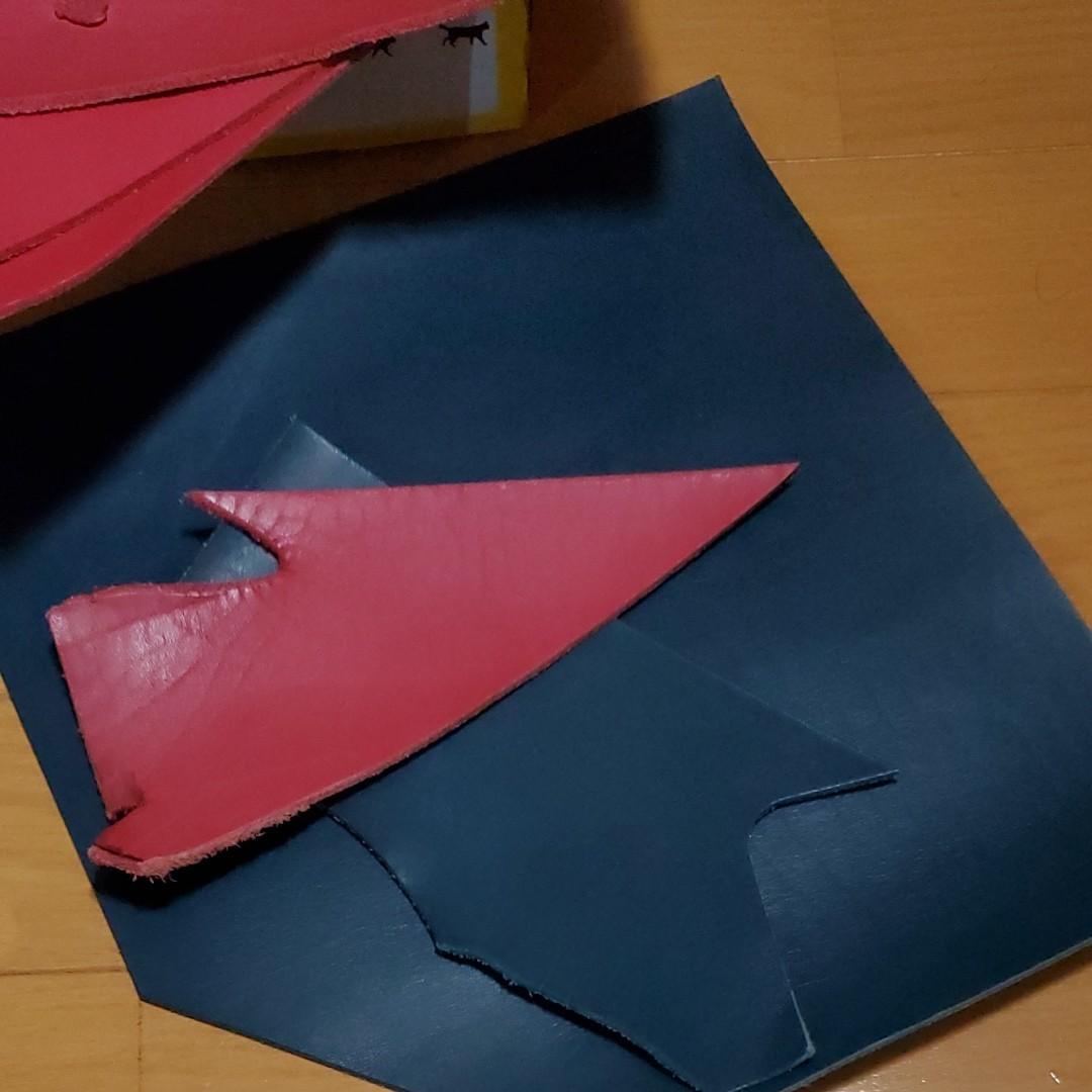 姫路レザー ヌメ革 革 ハギレ レザークラフト ハンドメイド材料 小物 タグ