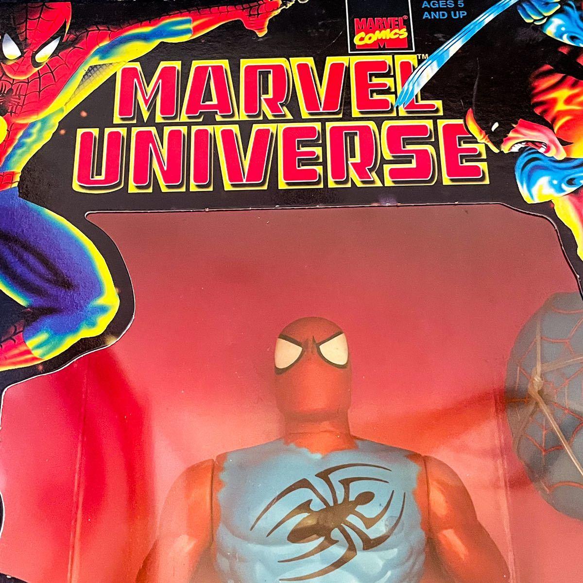 未開封 1997年製 TOYBIZ トイビズ マーベルユニバース 10インチアクションフィギュア SPIDER-MAN スパイダーマン スカーレットスパイダー_画像6