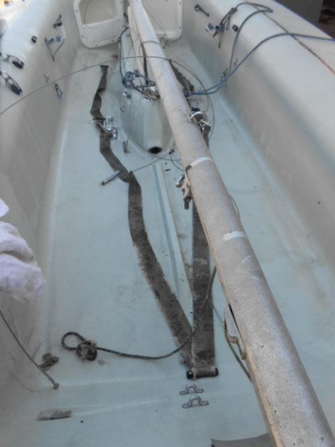 YAMAHA ヤマハ ヨット ディンギー シーラーク3~4人乗り 中古艇 !引き取り限定!!_画像3
