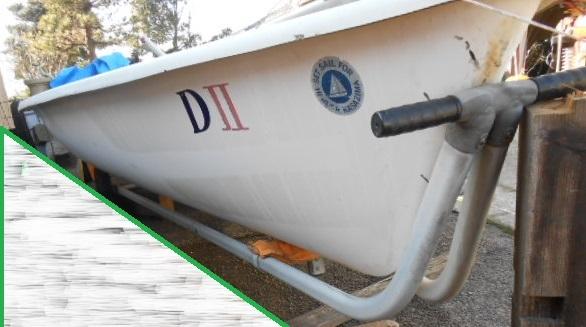 YAMAHA ヤマハ ヨット ディンギー シーラーク3~4人乗り 中古艇 !引き取り限定!!_画像4