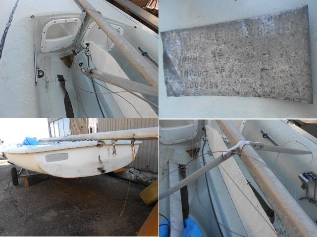 YAMAHA ヤマハ ヨット ディンギー シーラーク3~4人乗り 中古艇 !引き取り限定!!_画像9