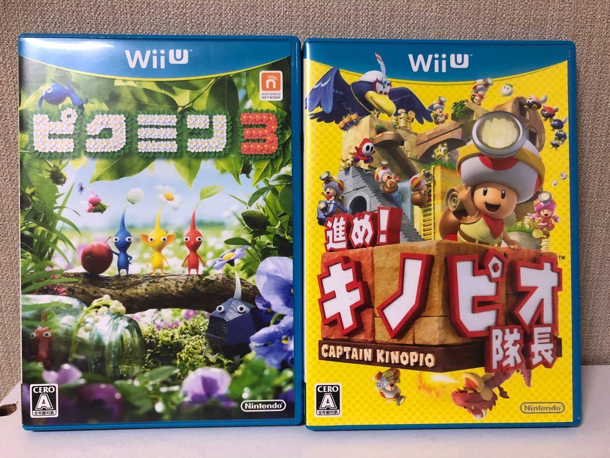 WiiU   ピクミン3 + 進め!キノピオ隊長