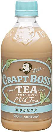 サントリー クラフトボス ミルクティー 紅茶 500ml ×24本_画像1