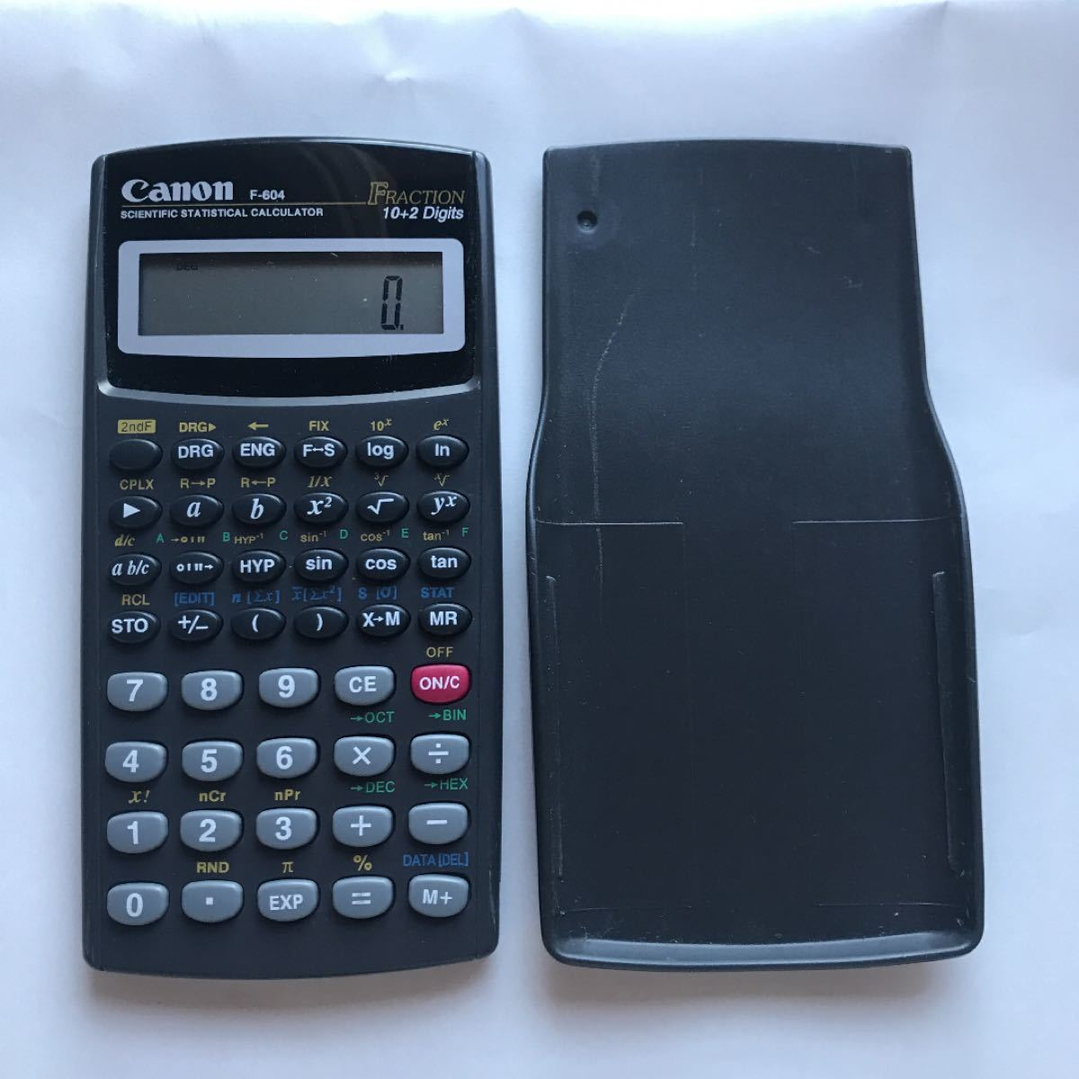 関数電卓 CanonF-604