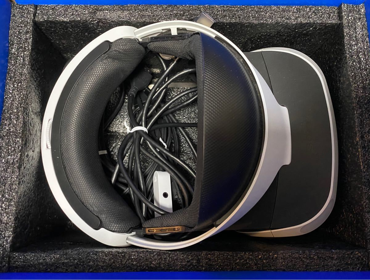 動作品 北米版 PlayStationVR CUH-ZVR1 PlayStation Camera付 CUH-ZEY1J 箱説あり
