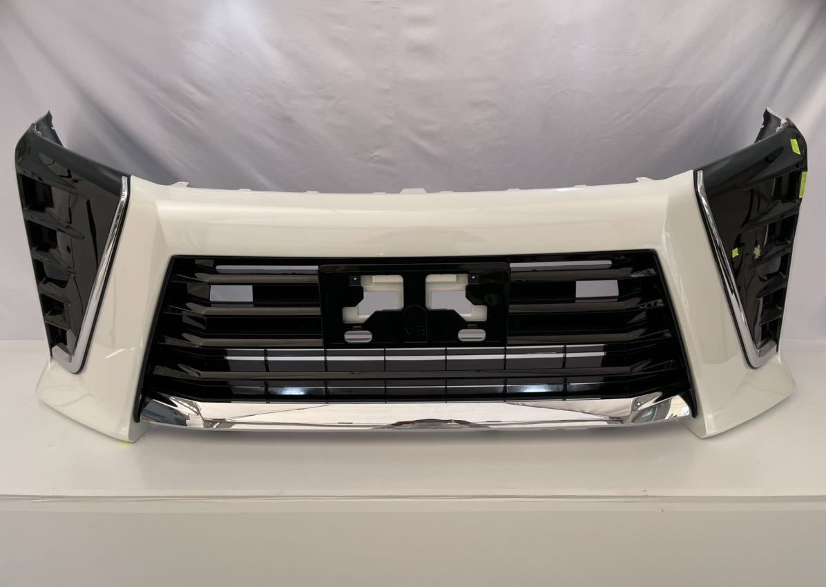 S-63 ヴォクシー フロントバンパー ロアグリル付き ZRR80W ZWR80W 後期 52119-28L60 21.2.22_画像1