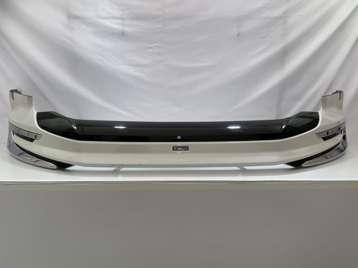 TPT-O-1 ハリアー フロントスポイラー モデリスタ 60系 後期 ZSU60W スポイラー Ver.1 LED付き D2531-56710 パールホワイト 21.2.8_画像1