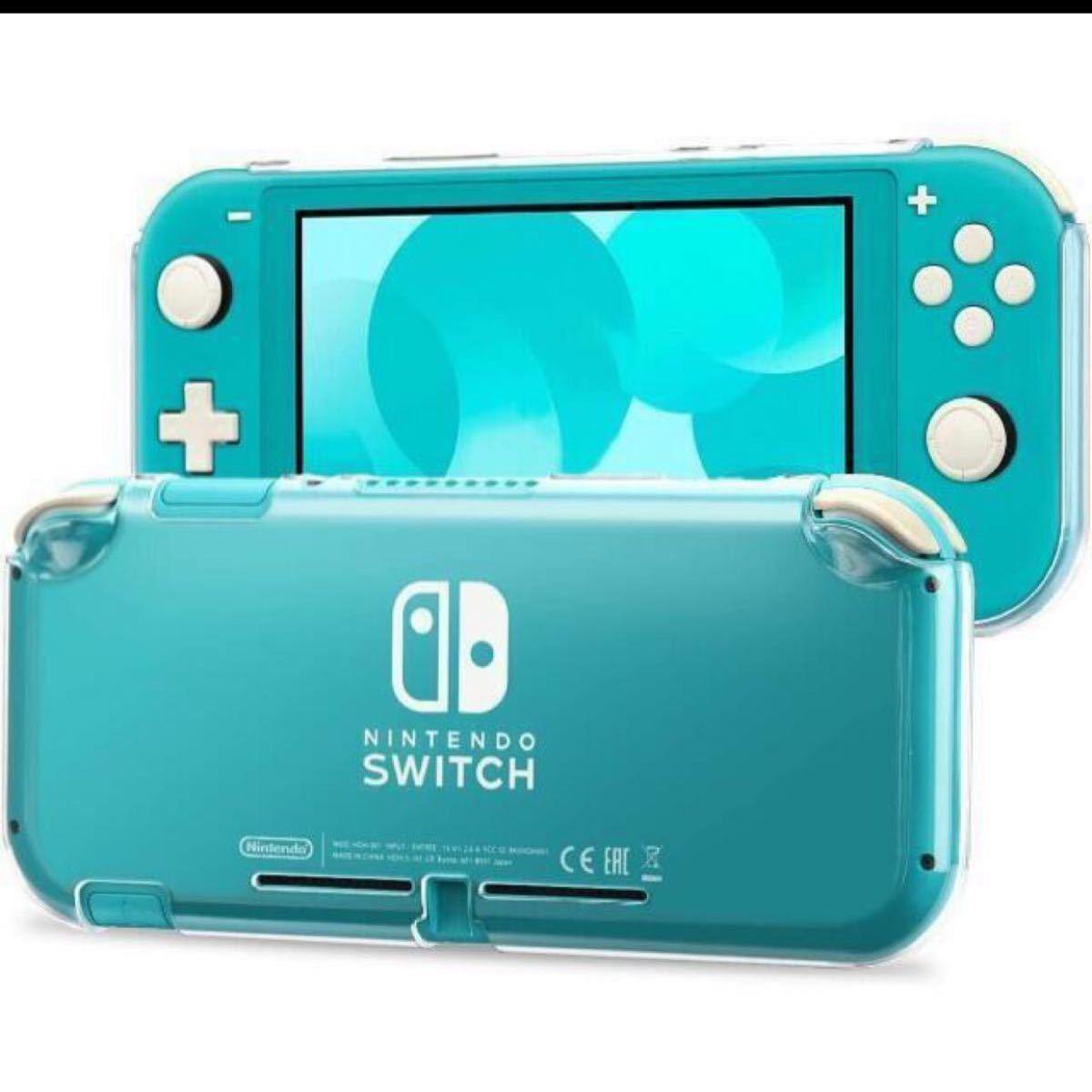 Switch Lite ケース コンパチブル Nintendo Switch Lite 超薄型 透明 保護カバー 任天堂
