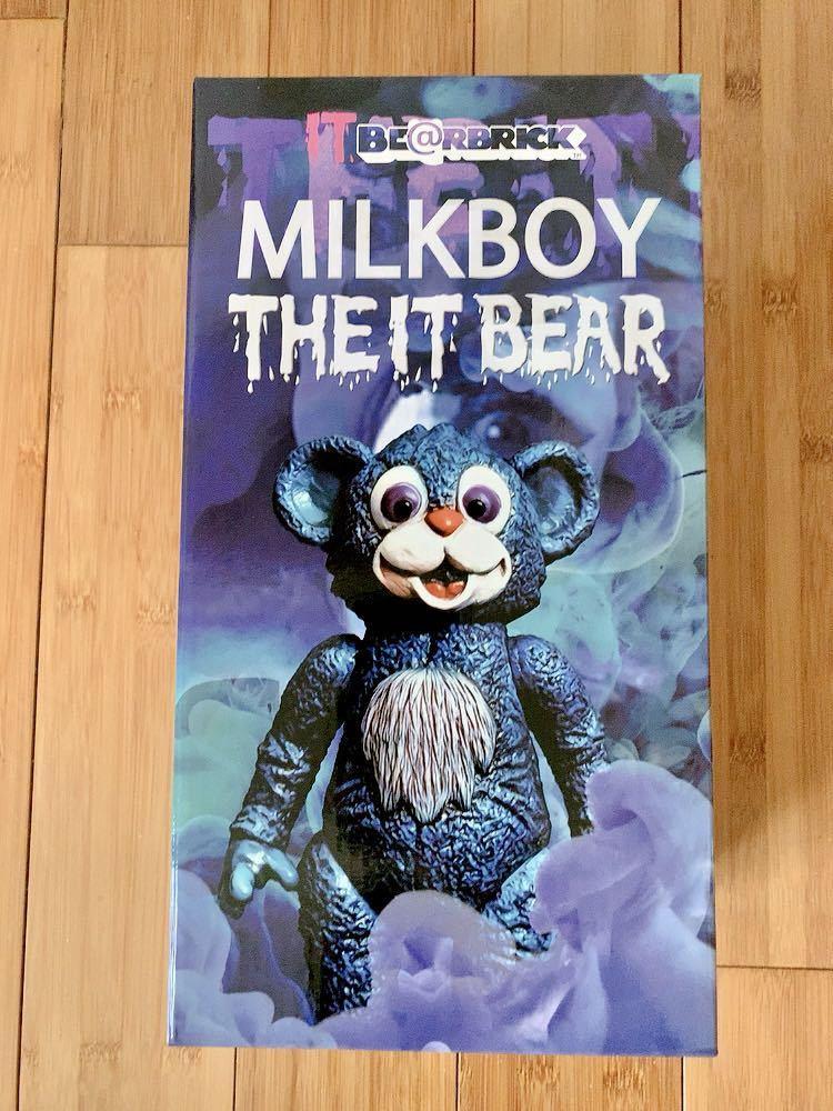ベアブリック BE@RBRICK IT BEAR 400% 新品未開封 ミルクボーイトイズ_画像1