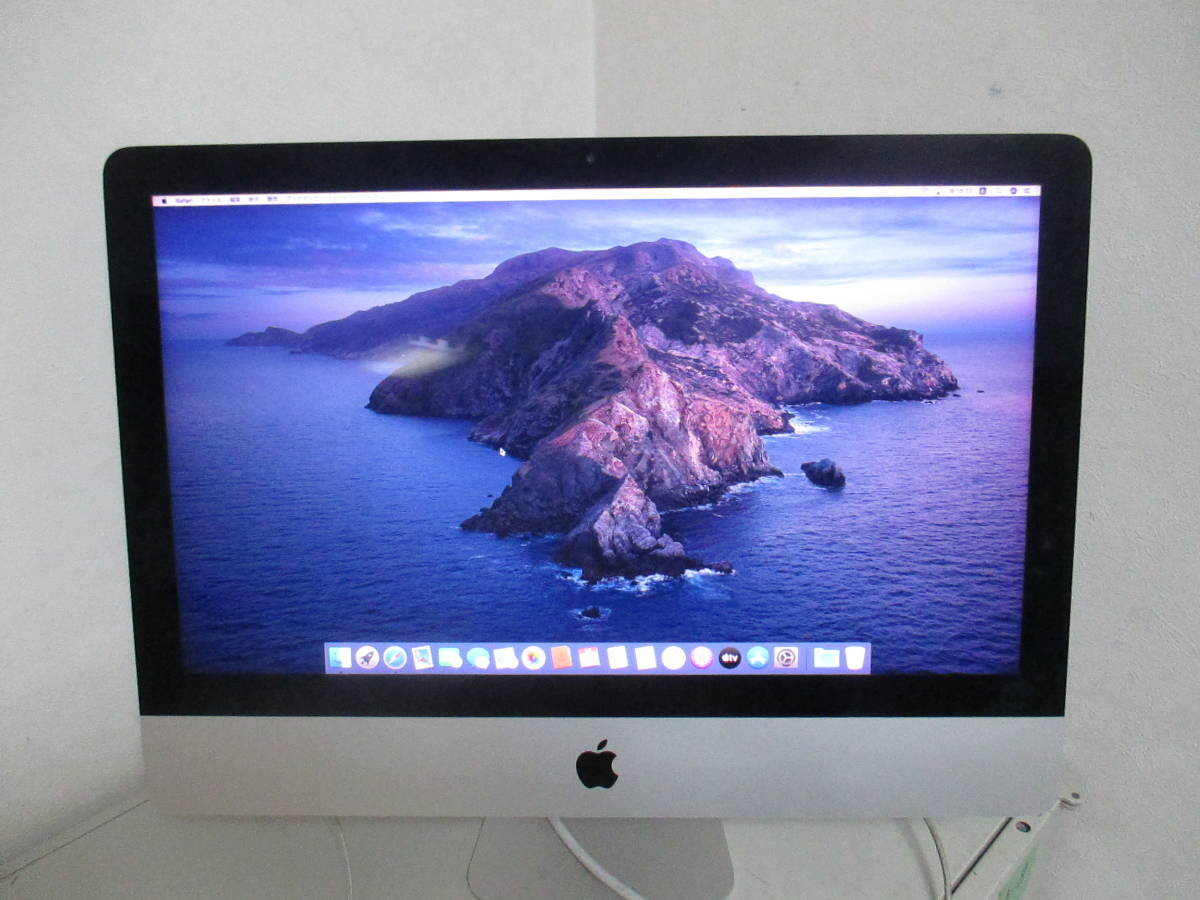 「A-5」美品★Apple A1418 iMac(Retina 4K,21.5-inch,Late2015)クアッドコアi5 3.1GHz/HDD2.0TB/メモリ8GB/無線/MacOS Catalina 10.15.3★_画像1