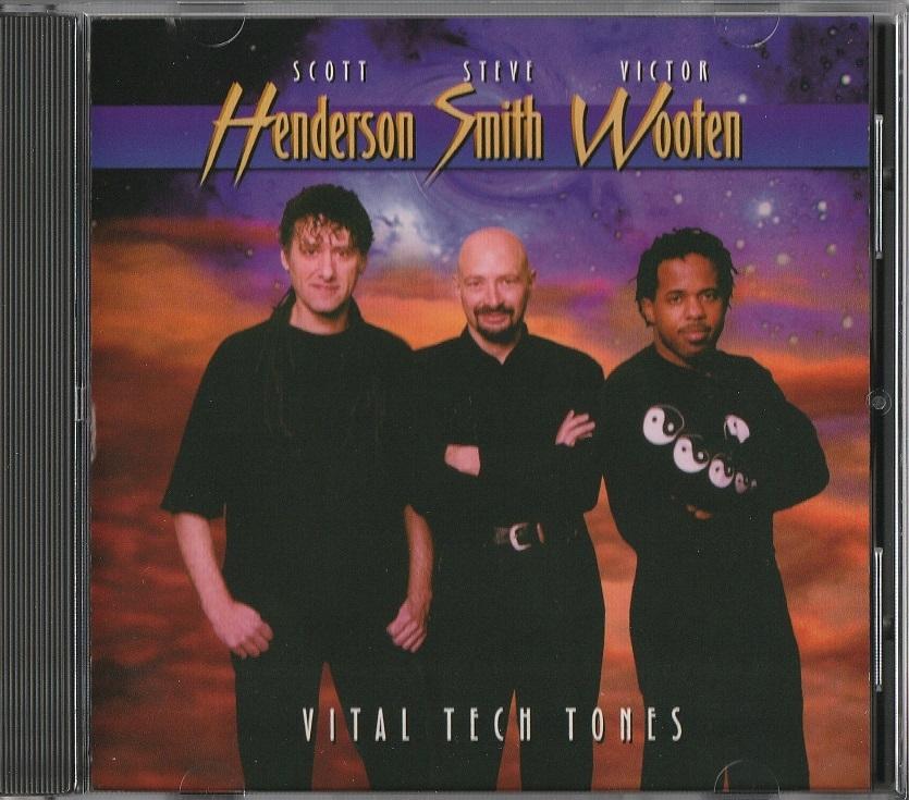 【中古】Scott Henderson, Steve Smith, Victor Wooten / Vital Tech Tones (輸入盤, 1998年作品)_画像1