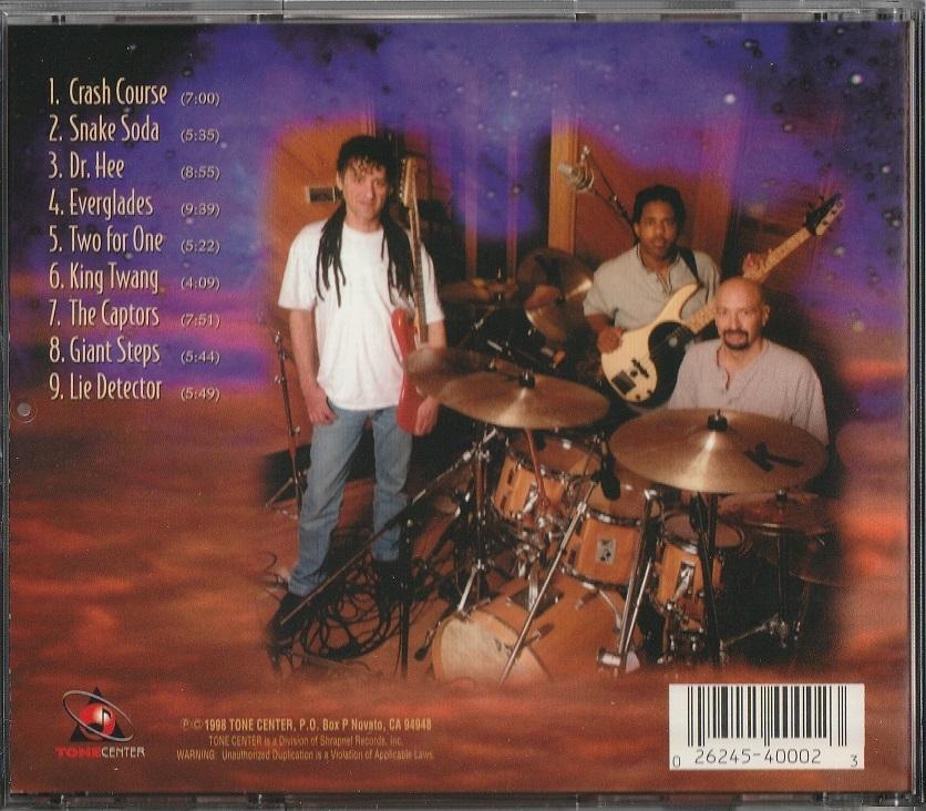 【中古】Scott Henderson, Steve Smith, Victor Wooten / Vital Tech Tones (輸入盤, 1998年作品)_画像2