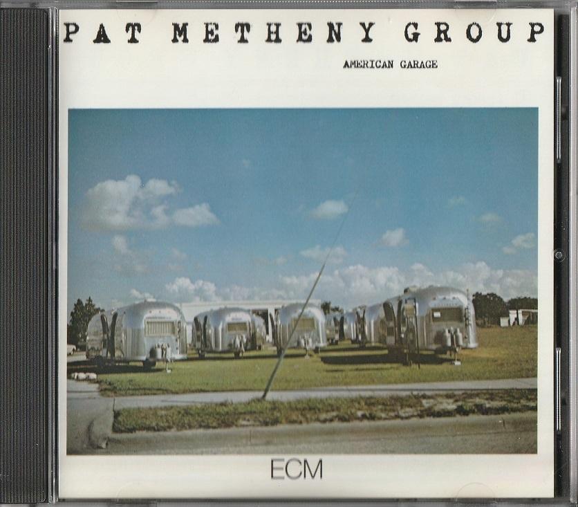 【中古】Pat Metheny Group / American Garage (輸入盤, 盤質良好, 1979年作品) #Lyle Mays, Mark Egan, Dan Gottlieb_画像1