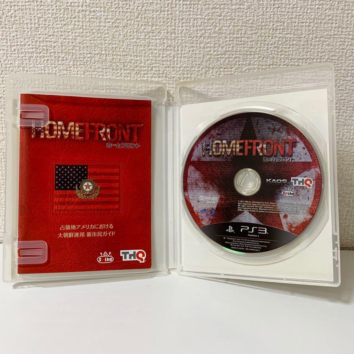 匿名配送/送料込★★ホームフロント HOMEFRONT PS3ソフト