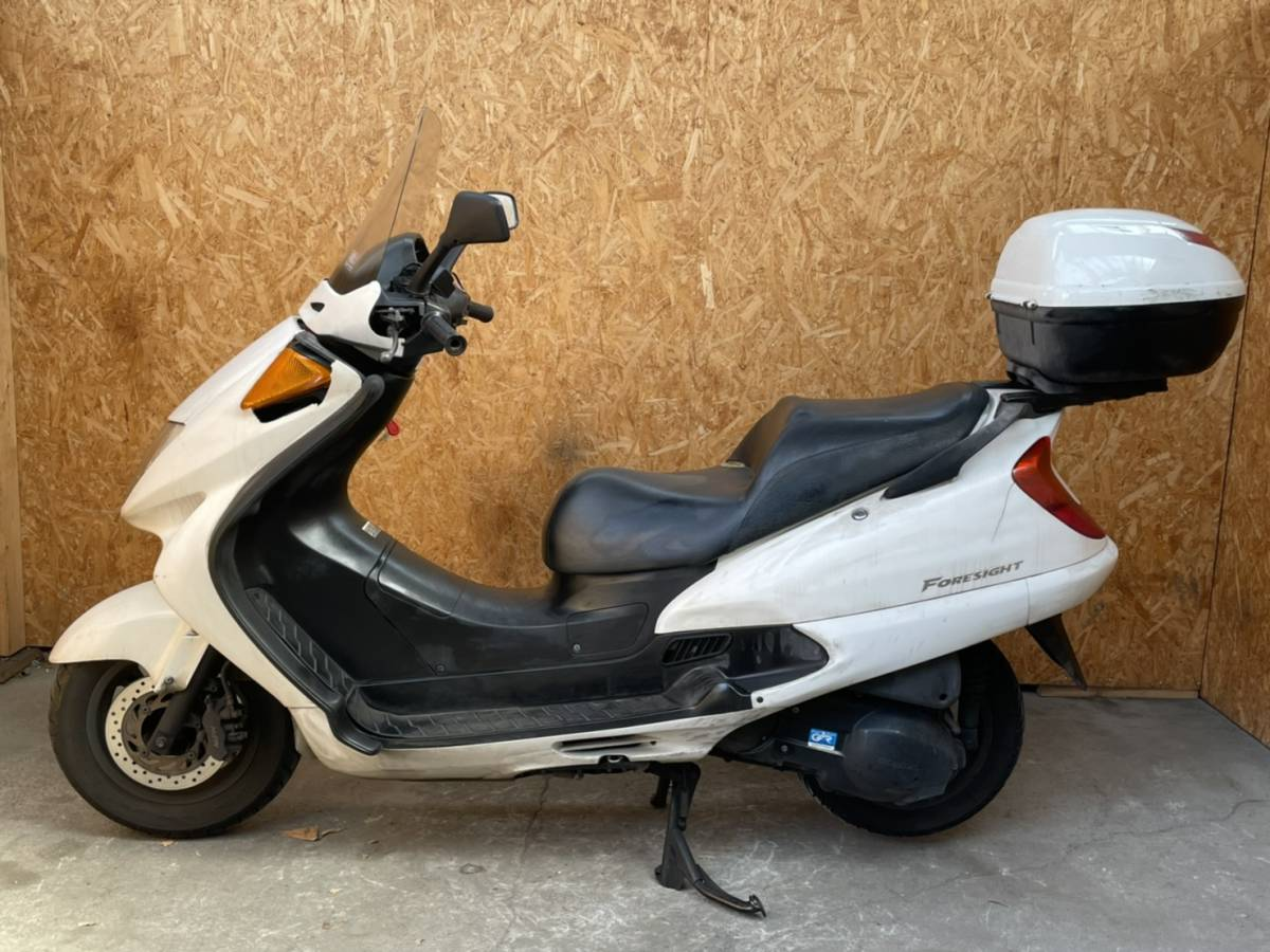 「長野県☆フォーサイトEX MF04☆ディスクブレーキ グリップヒーター ボックス付き検)マジェスティ スカイウェイブ ビッグスクーター 250cc」の画像2