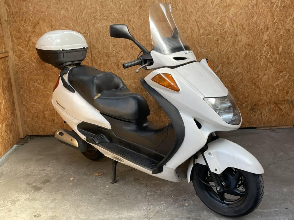 「長野県☆フォーサイトEX MF04☆ディスクブレーキ グリップヒーター ボックス付き検)マジェスティ スカイウェイブ ビッグスクーター 250cc」の画像3