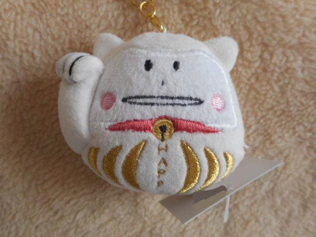 ☆バッグチャーム & 携帯ストラップ☆ネコのコラット 招き猫・だるま /CRAFTHOLIC(クラフトホリック)_画像3