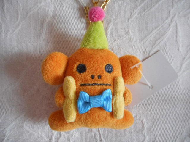 ★バッグチャーム&携帯ストラップ★サルのスロース おもちゃ バナナ Asobo craft/ CRAFTHOLIC(クラフトホリック)_画像2