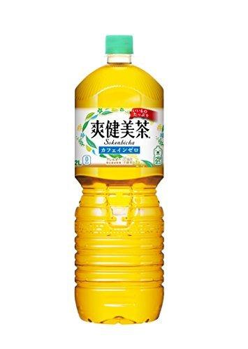 2)2L×10本(旧) コカ・コーラ 爽健美茶 お茶 ペットボトル (2L)×10本_画像1