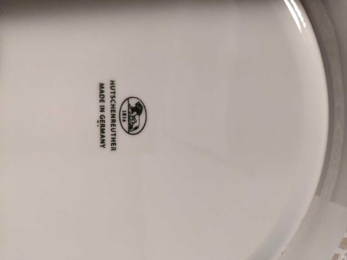 未使用 フッチェンロイター バロネスホワイトプレート 26cm 正規品 上品でエレガント ウエッジウッド好きにも _画像5