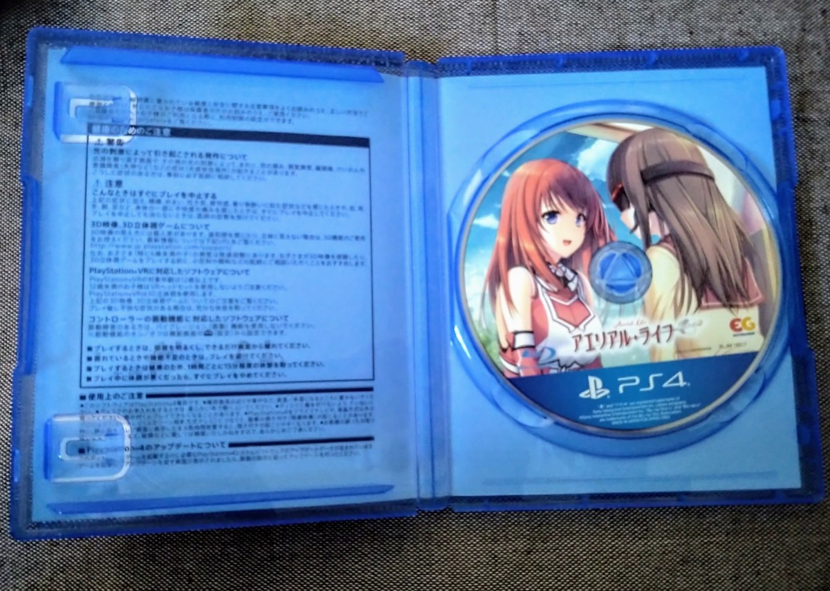PS4ソフト アエリアル・ライフ