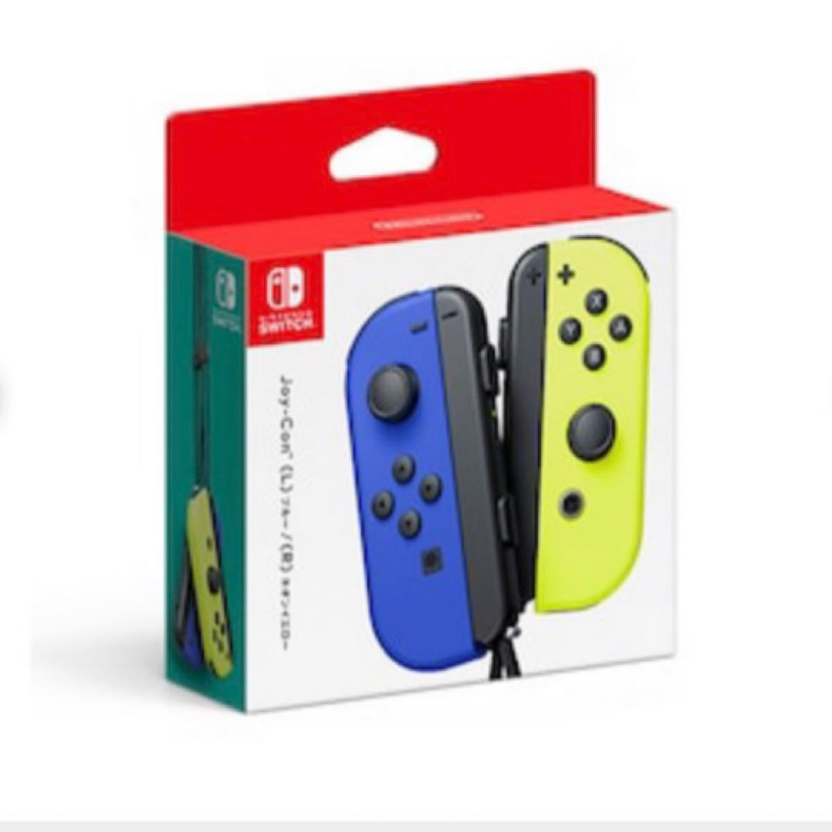 Joy-Con(L) ブルー/(R) ネオンイエロー  Nintendo Switch ジョイコン Joy-Con