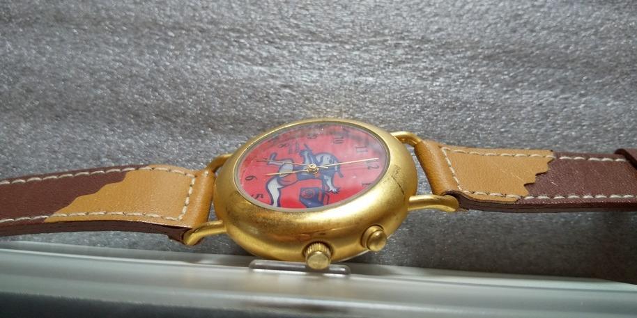 《レア》佐川急便 飛脚君 腕時計_画像5