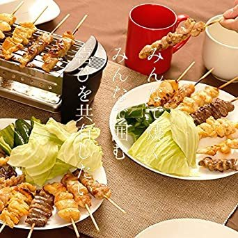国産 鳥ハツ串セット 焼き鳥 焼肉 バーベキュー におすすめ (100本)_画像6