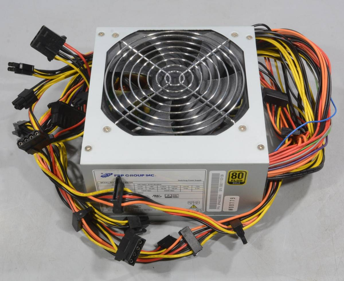 動作保証★電源 ATX500W FSP GROUP FSP500-60EGN 80PLUS GOLD★779_画像5