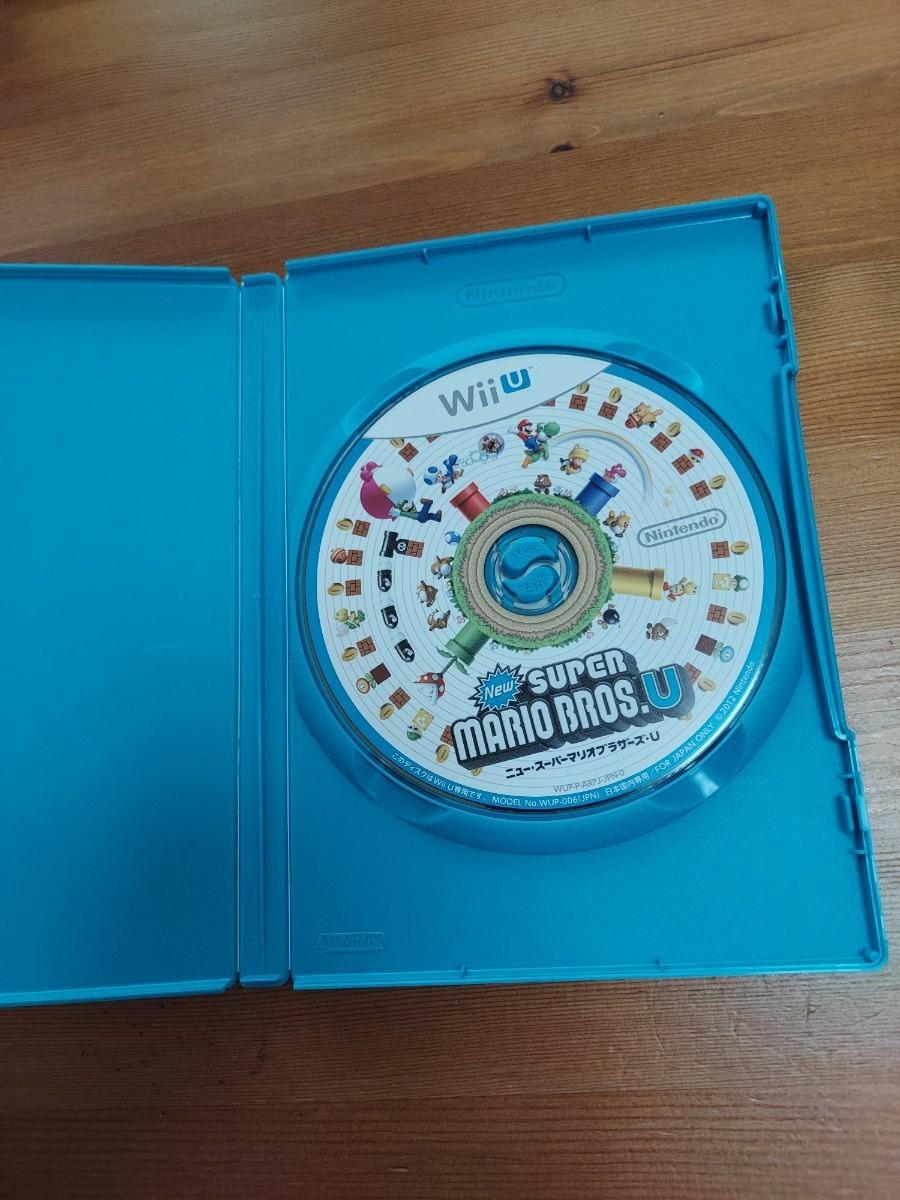 WiiU NewスーパーマリオブラザーズU 任天堂