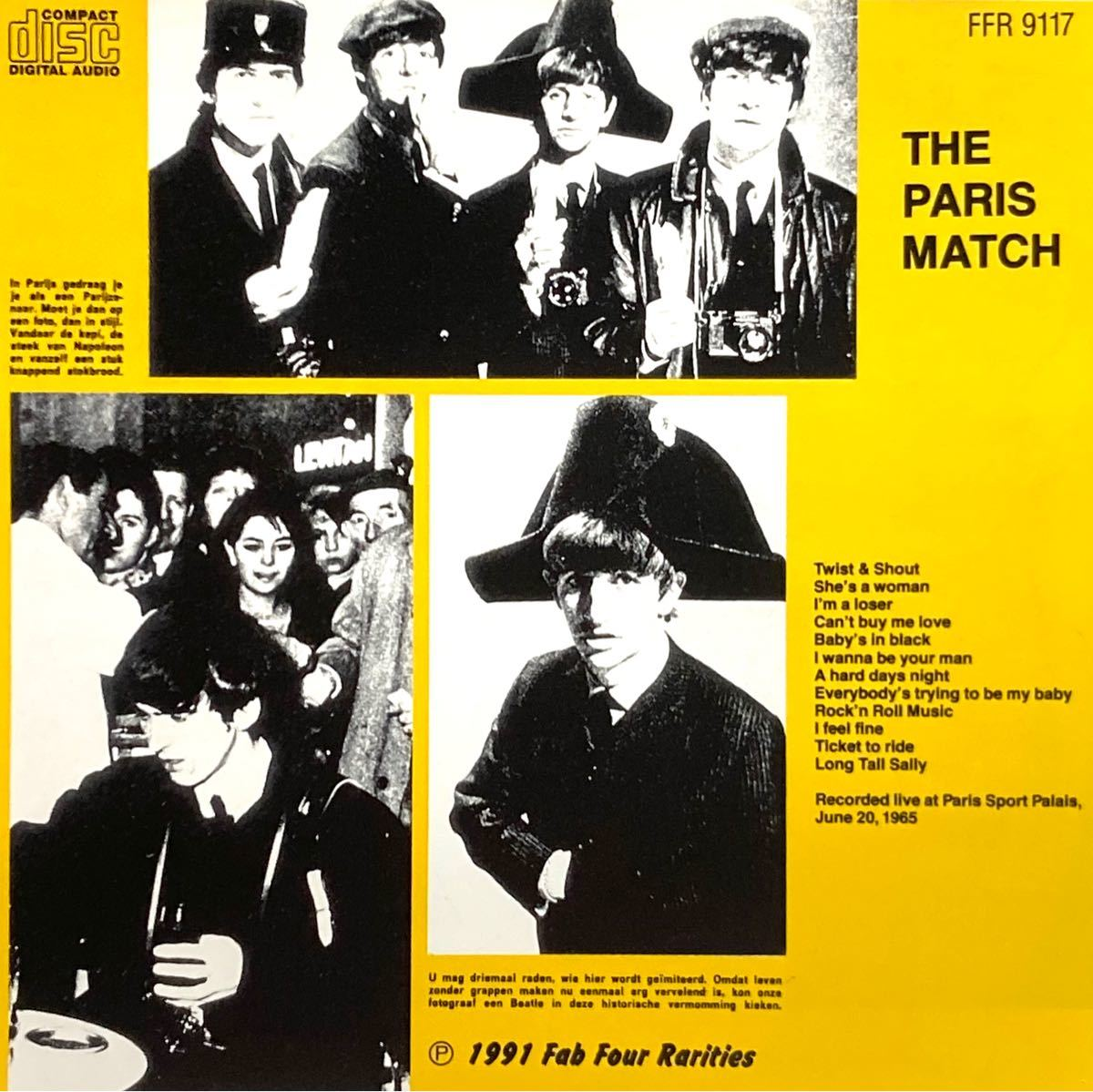 THE BEATLES/ THE PARIS MATCH