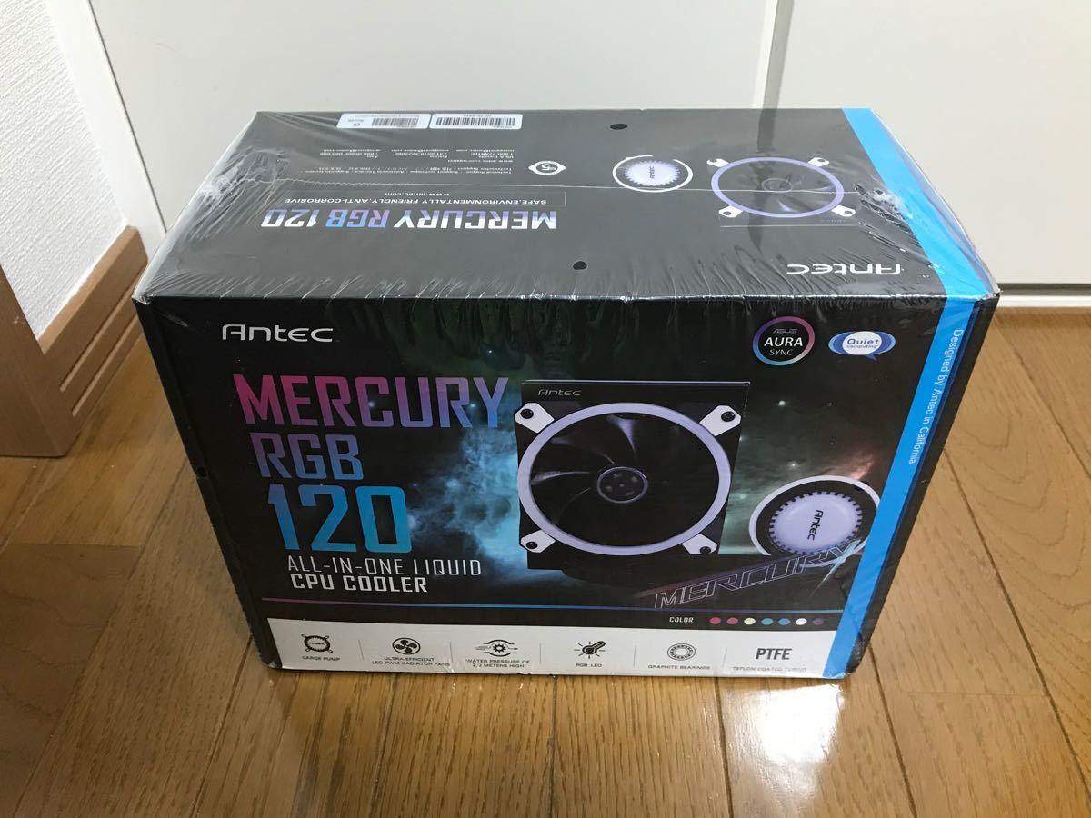 【匿名配送!】Antec Mercury120 RGB 新品未開封!