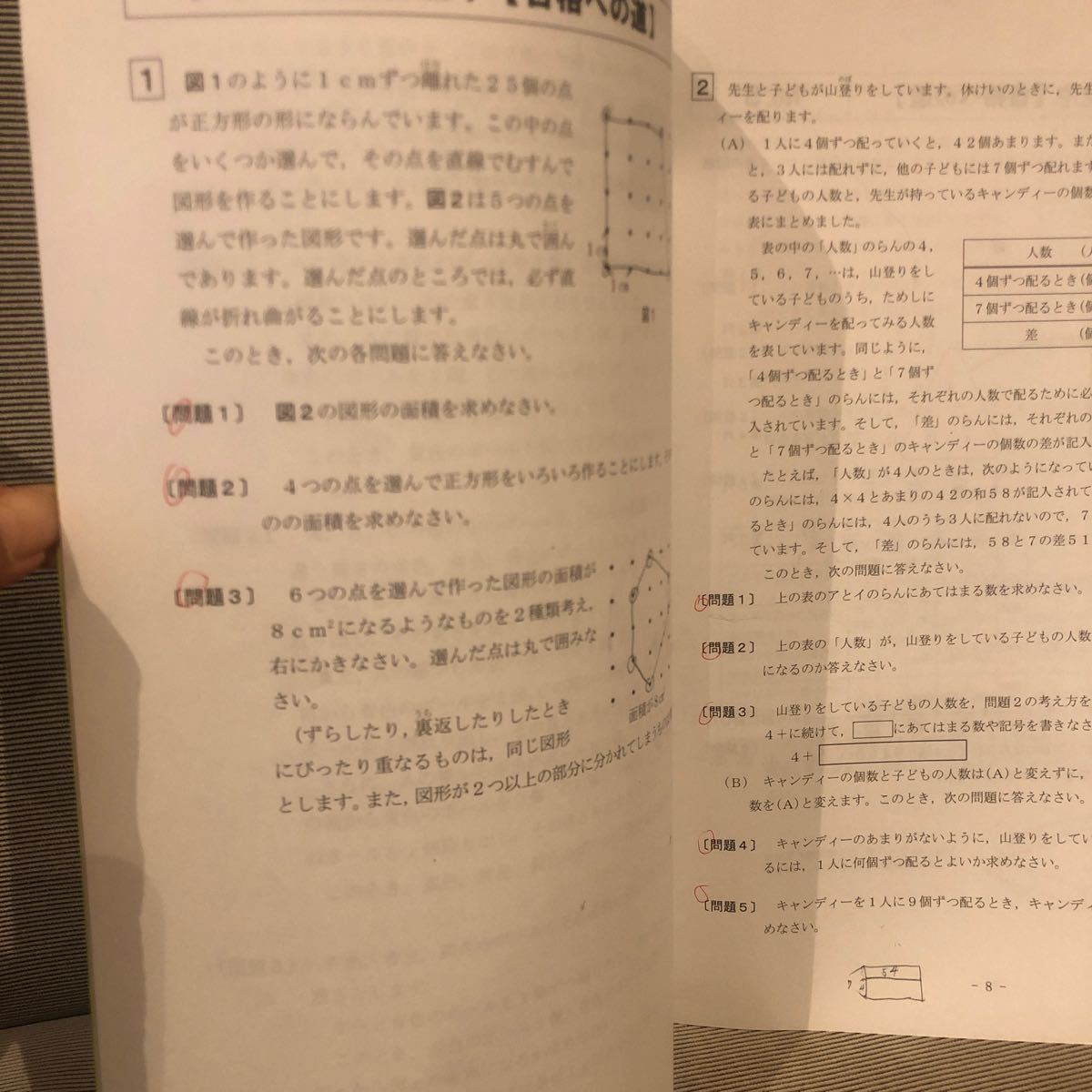 ena 小6  問題集 合格への道 適性検査 都立中高一貫校  28p