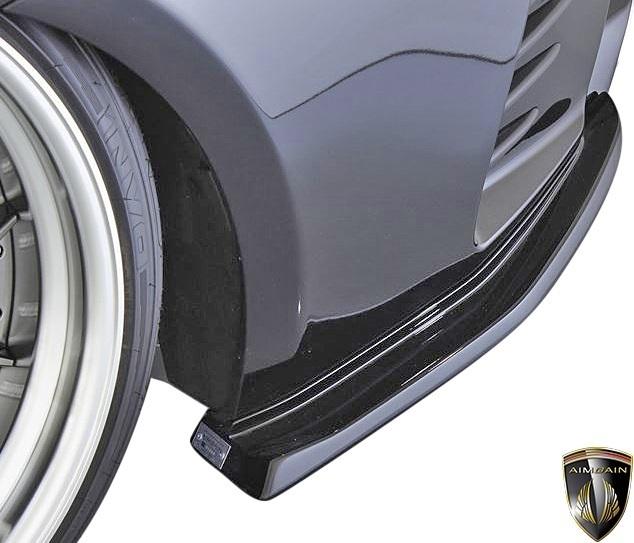 【M's】LEXUS 前期 RC F-SPORT (2014.10-2018.9) AIMGAIN 純VIP SPORT リヤアンダースポイラー // FRP エイムゲイン エアロ パーツ 外装_画像2