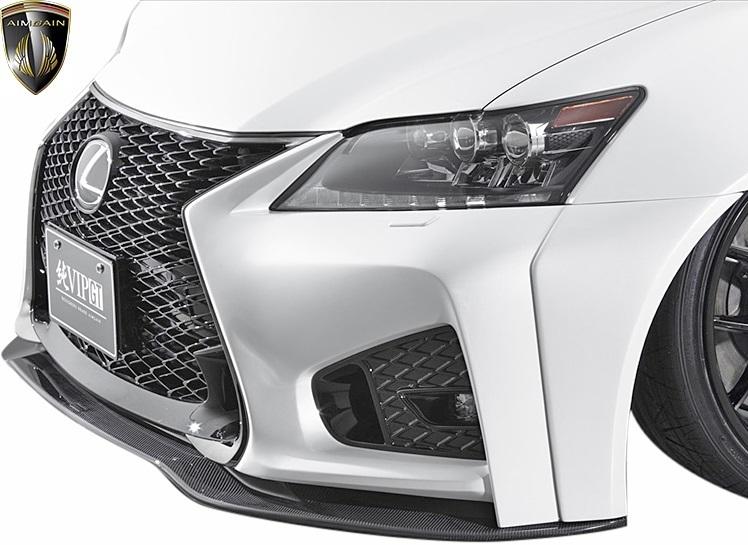 【M's】レクサス 前期 10系 GS350 GS250 (2012.1-2015.11) AIMGAIN 純VIP GT フロントバンパー // FRP エイムゲイン エアロ パーツ GS_画像4